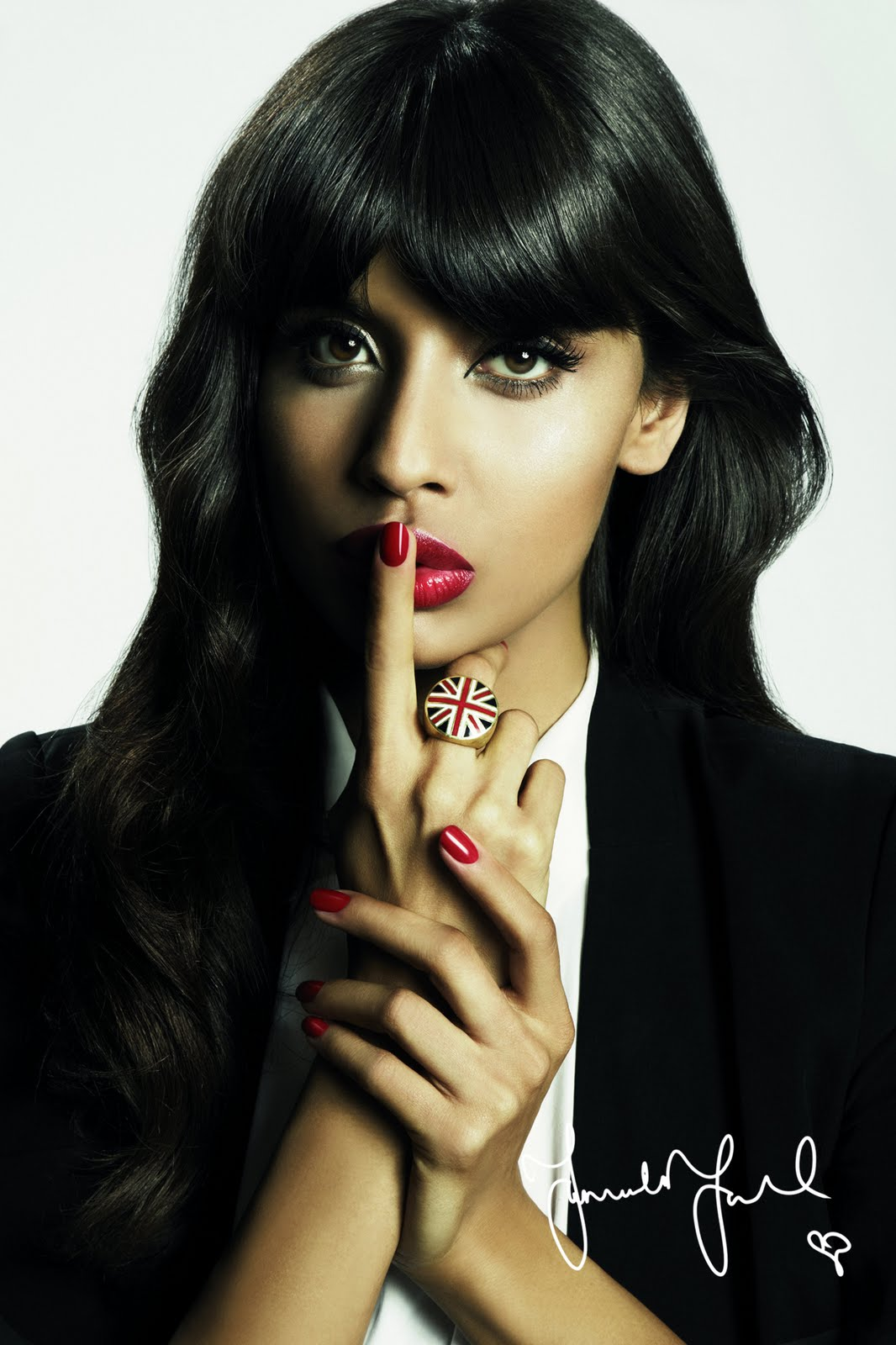 Press: Jameela Jamil is the new face of nails inc